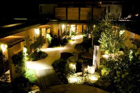 giardino illuminati giardini illuminati progettazione giardini