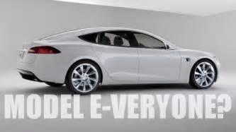 Tesla Model E Price Tesla Trademarks Model E Could Be The Ev For Everyone