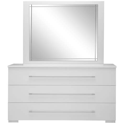 Dresser Mirror by Dimora White Dresser Mirror