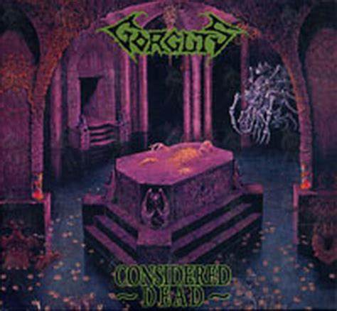 What Are Considered Records Gorguts Considered Dead Album Cd Records