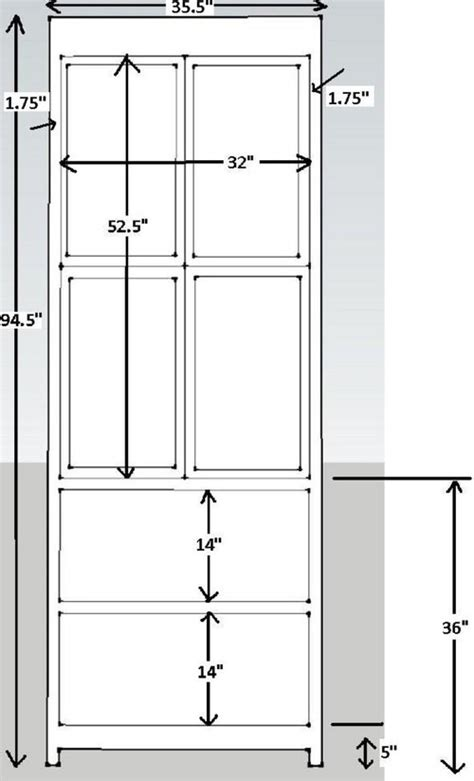 Depth Of Closet by Pleasing Dimensions For A Linen Closet
