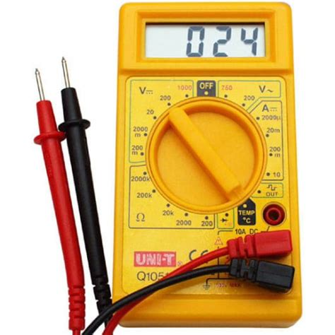Multitester Digital Cellkit multimeter voltmeter