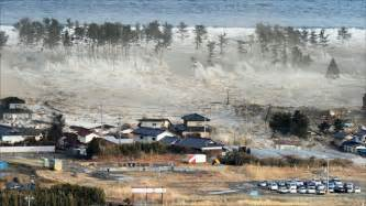 march 2011 japan hit by tsunami after massive earthquake