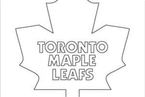 17 Free Toronto Maple Leaf Clip Art Toronto Maple Leafs Coloring Pages