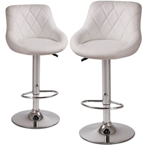 adjustable bar stools uk miadomodo 174 lbhk04 2 height adjustable faux leather bar
