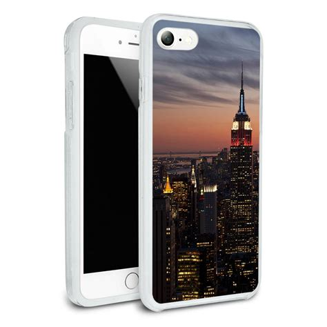 Casing Hp Iphone 7 Iphone 7 Plus New Logo X4235 new york city skyline at empire state for apple iphone 7 7 plus ebay