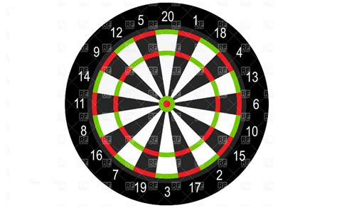 Pattern Dartboard Numbers | pattern numbers on a dartboard we know why they are in