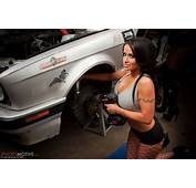 BMW Mechanics 02 Hot Girls With Power Tools Working On