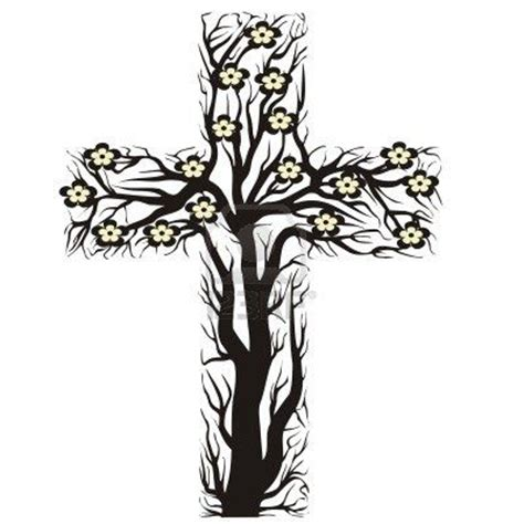 floral cross tattoo designs tim floral christian cross tree shape on a white
