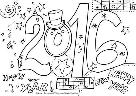2016 new years eve coloring pages new years eve printables fun ways to celebrate as a family