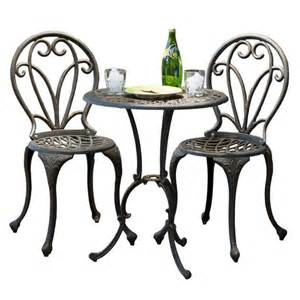Metal Patio Table Set Metal Patio Table And Chairs Set Marceladick