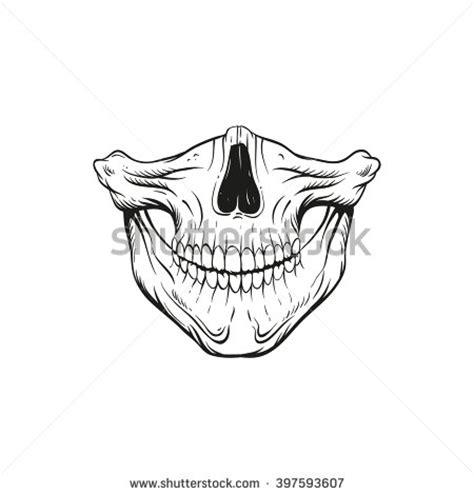 top 10 bandana design tattoos bandana skull vector illustration stock vector