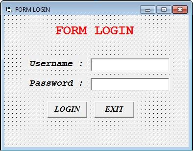 membuat form login di laravel membuat form login sederhana dengan vb