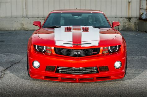 supercharged  chevrolet camaro ss hot rod network