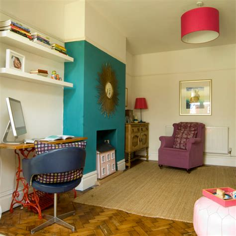 chimney breast in bedroom how to decorate with colour ideal home