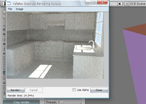 tutorial yafaray blender model texture and render a photorealistic kitchen in