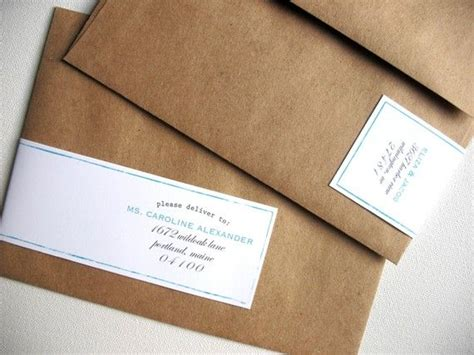 wrap around address label so simple with the color added just in a thin line kara s