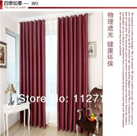 burgundy curtains bedroom free shipping high quality elegant burgundy finished