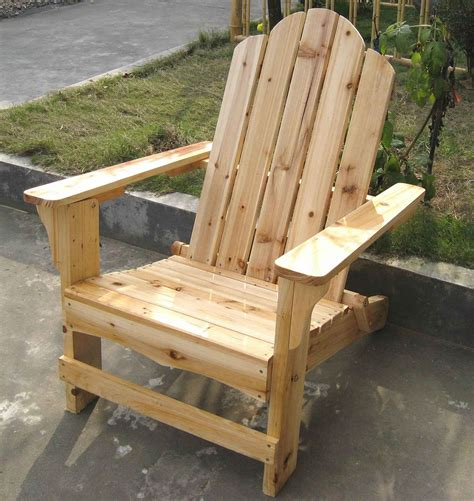 Wood Patio Chair Adirondack Furniture