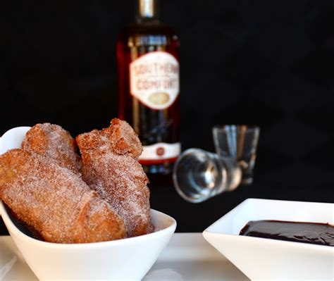 southern comfort sauce butrcreamblondi red velvet cake frites southern comfort