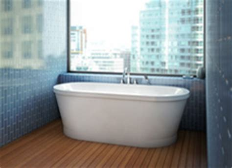 Freestanding Tub In Alcove Alcove Eidel Freestanding Bathtub