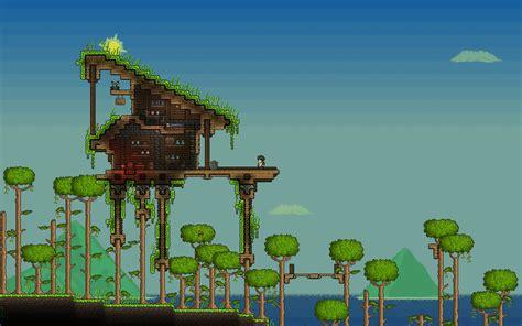 terraria tree house tree house wip terraria