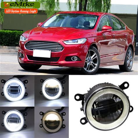 Promo Mk Bolbal 3in1 eemrke for ford mondeo mk4 2013 2016 3 in 1 led drl eye fog l car styling high power
