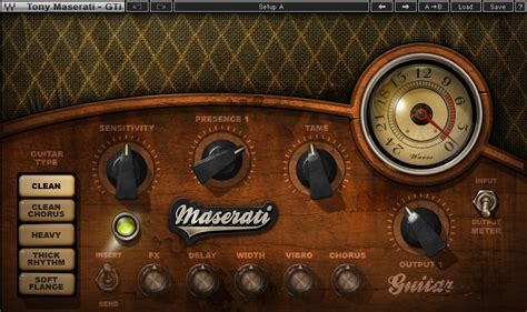 Waves Maserati by Maserati Gti Guitar Plugin Waves