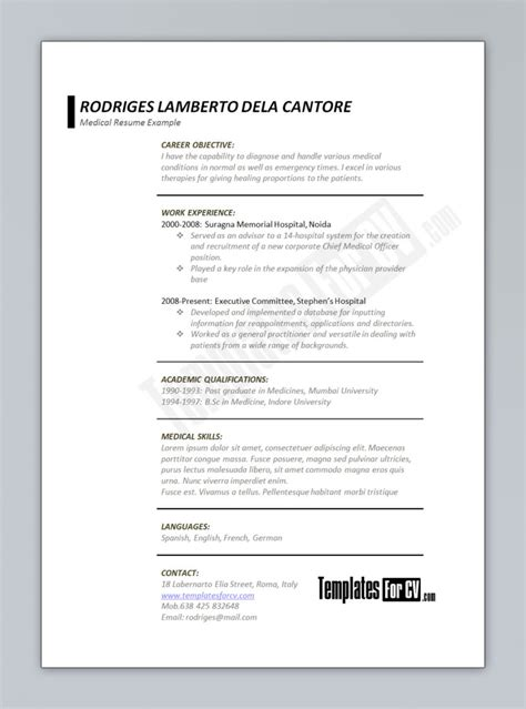 ordinary resume format 28 images coal mining resume