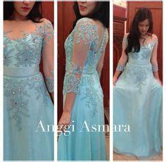 Batik Gamis Fashion Muslim Seno Lurik Qm064 Dress Batik Gamis dress kebaya on kebaya wedding dresses
