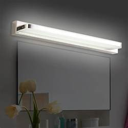 modern led bathroom lighting 3 stylish modern bathroom lighting fixtures mirror