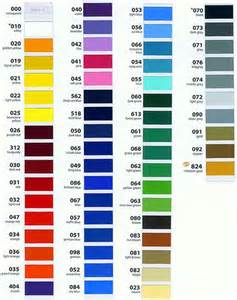 vinyl couture color chart for oracal 651 oh so