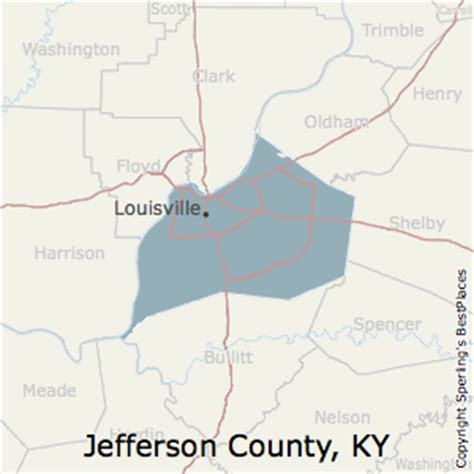 zip code map jefferson county ky best places to live in jefferson county kentucky