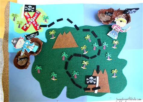printable maps for crafts interactive pirate treasure map summerofjoann juggling
