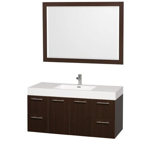 amare bathroom vanity wyndham collection amare 48 inch single bathroom vanity in