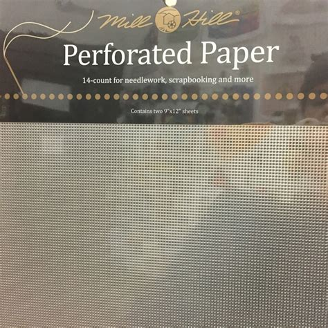 Perforated Paper Pp6 Silver silver perforated paper nimbleneedlenj
