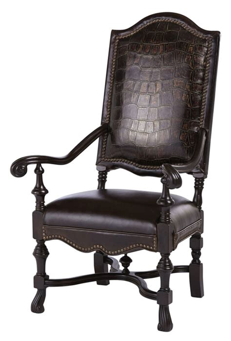 wyoming croco accent chair western dining chairs free