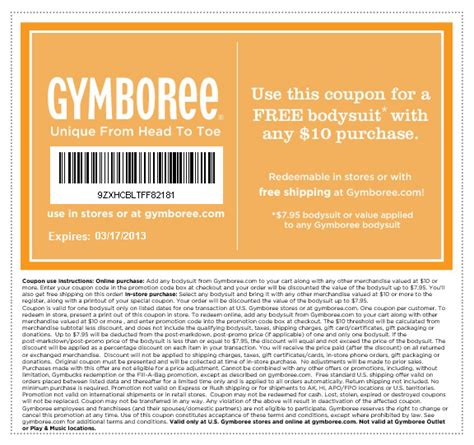 printable coupons for gymboree outlet gymboree coupon code 2013 specs price release date