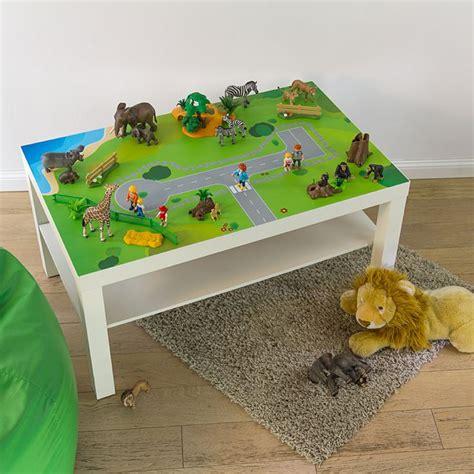Klebefolie Kinderzimmer Junge by Spieltisch Klebefolie Spielwiese Auf Wie Einfach Der