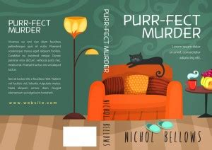 purr m for murder a cat rescue mystery books purr fect murder cozy mystery book cover for sale