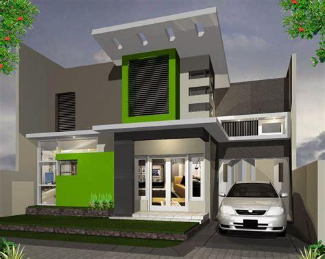 desain depan rumah bertingkat 15 desain rumah minimalis tak depan