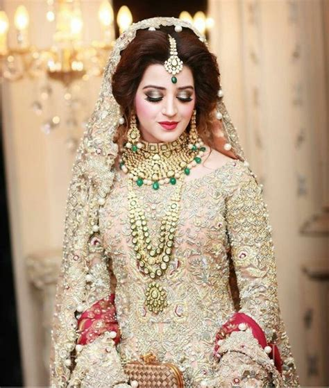 pakistani bridal hairstyles 2014 2015 for walima party and latest pakistani bridal wedding dresses 2018 collection