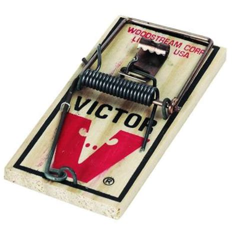 victor metal pedal mouse trap m154w the home depot