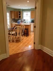 Kitchen Floor Wood Vs Tile Wood Vs Tile In The Kitchen