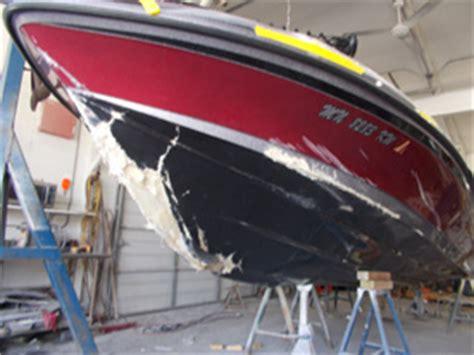 fiberglass boat repair mn fiberglass boat damage repairs minneapolis st paul