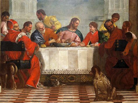 Wedding At Cana By Paolo Veronese Analysis by The Feast In The House Of Levi