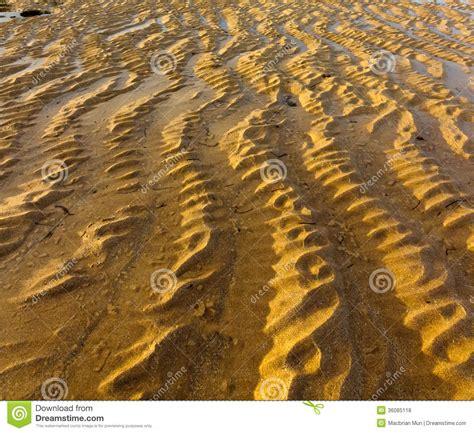 wavy sand pattern on nusa dua bali royalty free