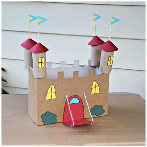 Cardboard Paper Craft - 1000 ideas about castle crafts on cardboard