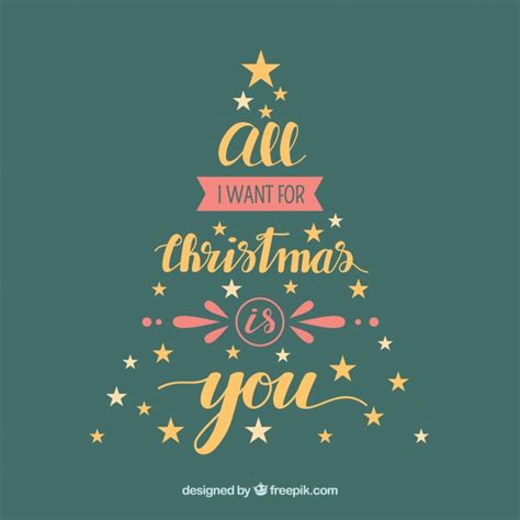 all i want for christmas is you vector free download