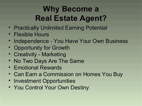 should i become a realtor thinking of being a real estate agent bonanza gold fields
